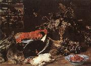 Still-life with Crab and Fruit SNYDERS, Frans