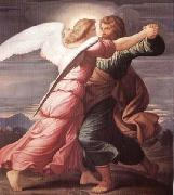 Jacob Wrestling with the Angel STEINLE, Edward Jakob von