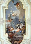 The Institution of the Rosary TIEPOLO, Giovanni Domenico