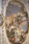 The Apotheosis of the Spanish Monarchy TIEPOLO, Giovanni Domenico