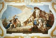 The Judgment of Solomon TIEPOLO, Giovanni Domenico