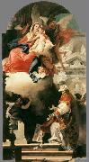 The Virgin Appearing to St Philip Neri 1740 TIEPOLO, Giovanni Domenico