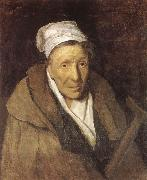 A woman with spelmani Theodore Gericault