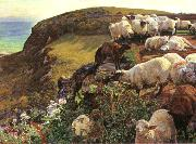 Our English Coasts William Holman Hunt