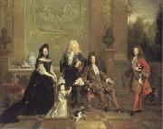 Louis XIV and his Heirs French school