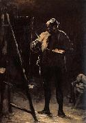 The Painter before his Picture Honore Daumier