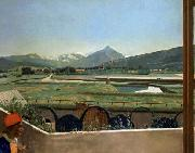 View of Geneva from the Artist s House Jean-Etienne Liotard