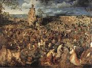 Christ Carring the Cross Pieter Bruegel