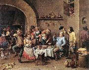 Twelfth-night (The King Drinks) ar TENIERS, David the Younger