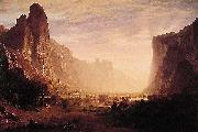 Albert Bierstadt Looking Down Yosemite Valley Bierstadt