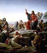 The Sermon on the Mount by Carl Heinrich Bloch Carl Heinrich Bloch