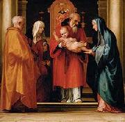 Scene with Christ in the Temple Fra Bartolomeo