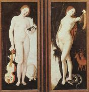 allegories of music and prudence Hans Baldung Grien