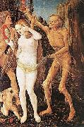 Three Ages of Woman and Death 1510 Hans Baldung Grien
