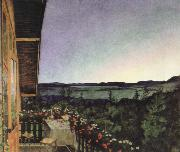 summer night Harald Sohlberg