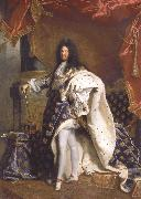 Portrait of Louis XIV Hyacinthe Rigaud