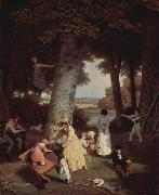 An Agasse painting Jacques-Laurent Agasse