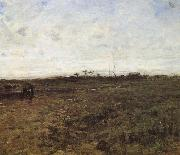 Field with tow countrywoman Jean Francois Millet