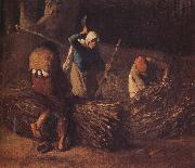 Pack the hay Jean Francois Millet