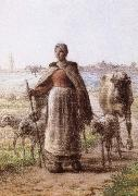 A coulp of peasant Jean Francois Millet
