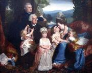 Portrait of the Copley family John Singleton Copley