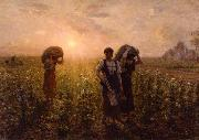The End of the Working Day Jules Breton