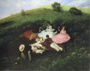 picnic in may Merse, Pal Szinyei