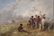 Aborigines near the mouth of the Victoria River Thomas Baines