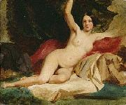 Female Nude In a Landscape William Etty