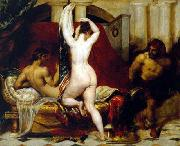 Candaules, King of Lydia, Shews his Wife by Stealth to Gyges William Etty
