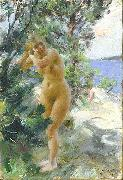 After the Bath, Anders Zorn