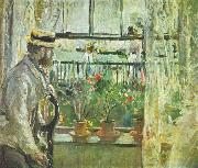 Eugene Manet on the Isle of Wight Berthe Morisot