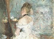 Lady at her Toilette Berthe Morisot