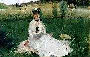 Reading, Berthe Morisot