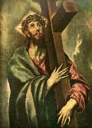 christ bearing the cross El Greco