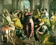 cleansing of the temple El Greco