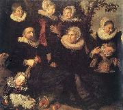 Family Portrait in a Landscape WGA Frans Hals