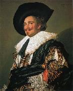 Laughing Cavalier, Frans Hals