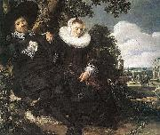Married Couple in a Garden WGA Frans Hals