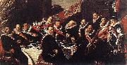 Banquet of the Officers of the St George Civic Guard WGA Frans Hals