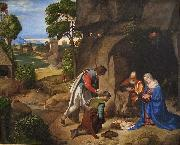 The Allendale Nativity Adoration of the Shepherds Giorgione
