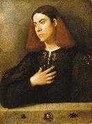 The Budapest Portrait of a Young Man Giorgione