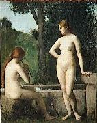 Idylle Jean-Jacques Henner
