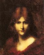 A Red Haired Beauty Jean-Jacques Henner