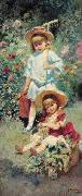 Children of the Artist, Konstantin Makovsky