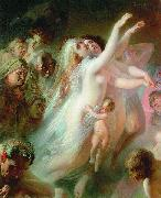 Charon transfers the souls of deads over the Stix river Konstantin Makovsky