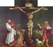 The Crucifixion, central panel of the Isenheim Altarpiece. Matthias Grunewald