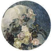 Roses and Orchids, Mikhail Vrubel