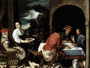 The Supper at Emmaus ORRENTE, Pedro