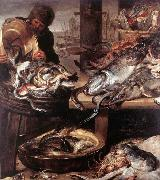 The Fishmonger SNYDERS, Frans